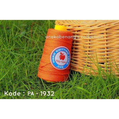 Benang Rajut Poly Apel / Apple Yarn - 1932 (Orange)