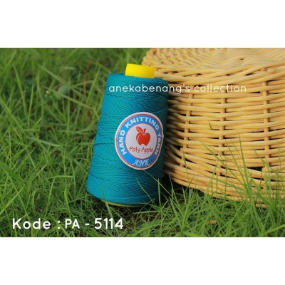 Benang Rajut Poly Apel / Apple Yarn - 5114 (Toska Tua)