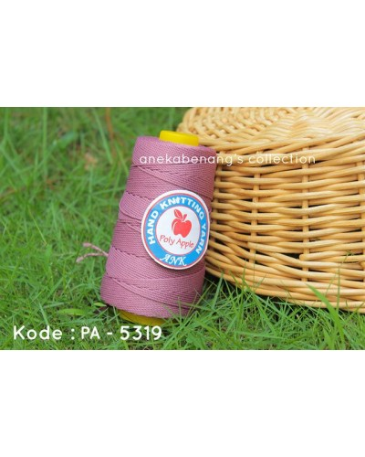 Benang Poly Apel / Apple Yarn - 5319 (Ungu Plum)