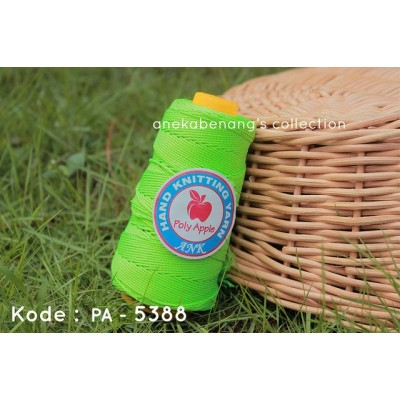 Benang Rajut Poly Apel / Apple Yarn - 5388 (Hijau Neon)