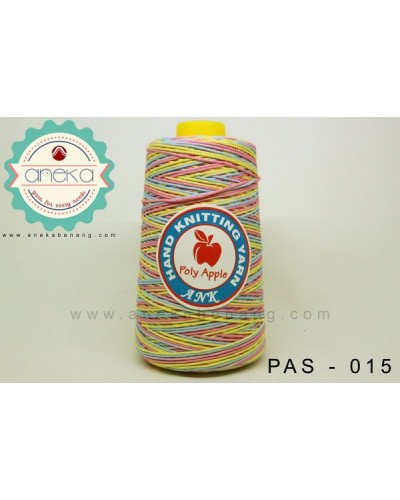 Benang Rajut Poly Apple Sembur / Mixcolour Poly Apple Yarn - 015