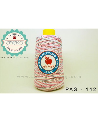 Benang Rajut Poly Apple Sembur / Mixcolour Poly Apple Yarn - 142