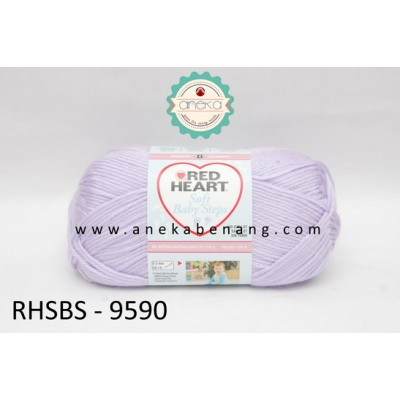 Red Heart Soft Baby Steps #9590 (Lavender)