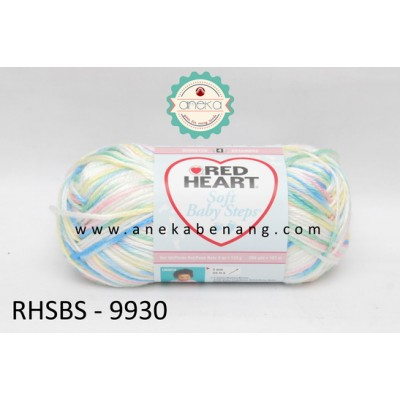 Red Heart Soft Baby Steps #9930 (Baby Print)