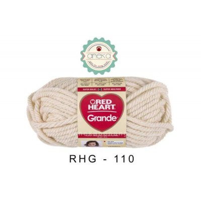 Red Heart Grande #0110 (Aran)
