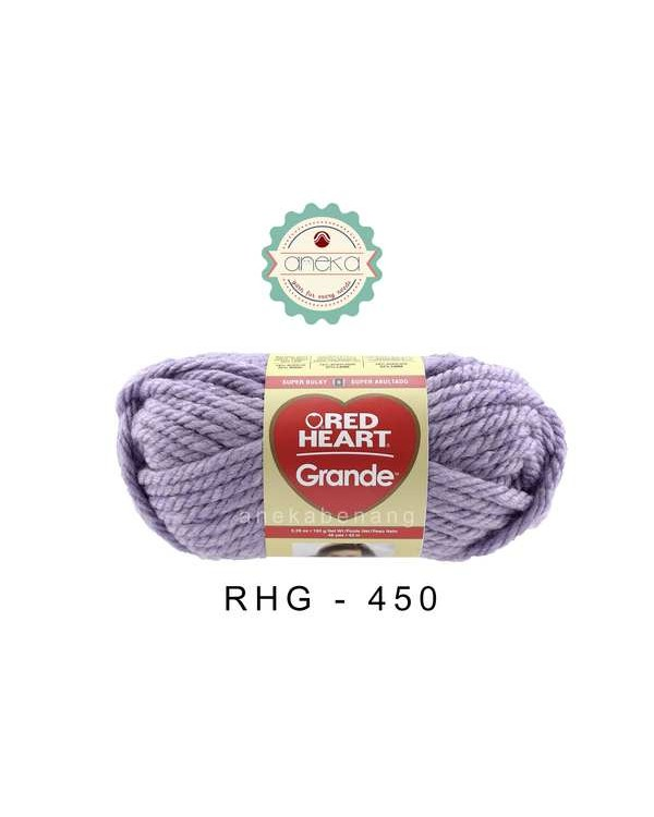 Red Heart Grande #0450 (Wisteria)