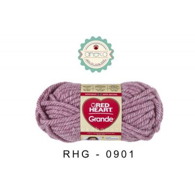 Red Heart Grande #0901 (Currant)