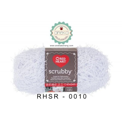 Red Heart Scrubby #0010 (Coconut)