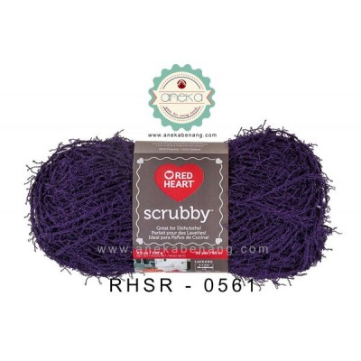 Red Heart Scrubby #0561 (Grape)