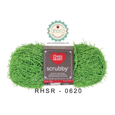 Red Heart Scrubby #0620 (Lime)