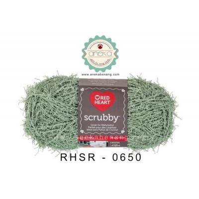 Red Heart Scrubby #0650 (Green Tea)