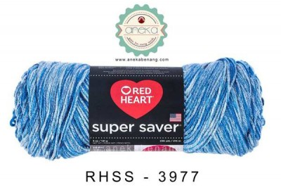 Red Heart Super Saver #3977 (Lapis)