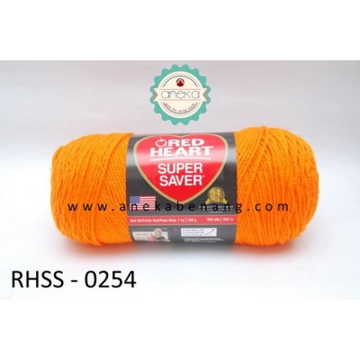 Red Heart Super Saver #0254 (Pumpkin)