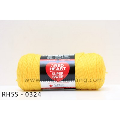 Red Heart Super Saver #0324 (Bright Yellow)