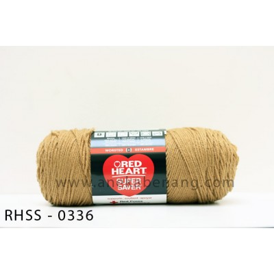 Red Heart Super Saver #0336 (Warm Brown)