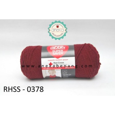 Red Heart Super Saver #0378 (Claret)