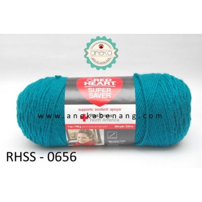 Red Heart Super Saver #0656 (Real Teal)