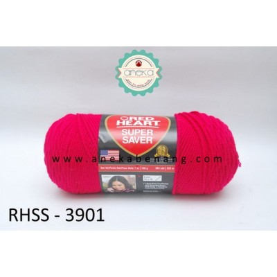 Red Heart Super Saver #3901 (Rouge)