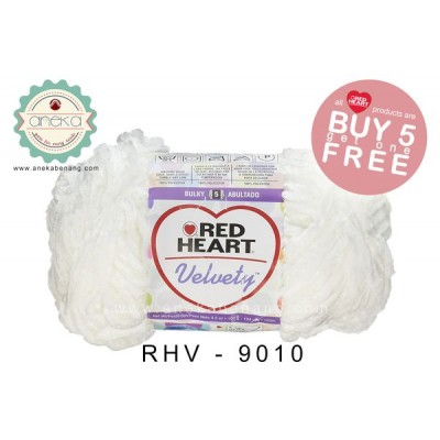 Red Heart Velvety #9010 (Marshmallow)