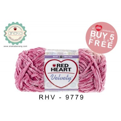 Red Heart Velvety #9779 (Watermelon)