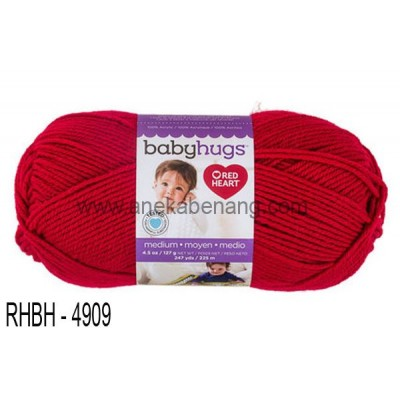 Red Heart Baby Hugs Medium #4909 (Ladybug)