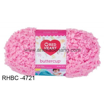 Red Heart Buttercup #4721 (Ballet Slipper)