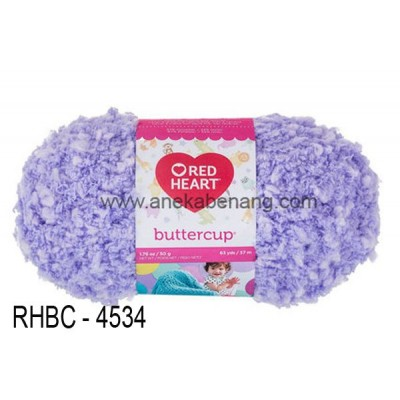 Red Heart Buttercup #4534 (Sugar Plum)