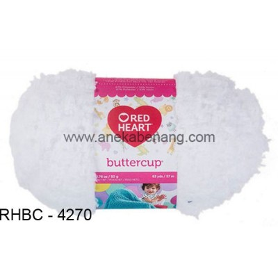 Red Heart Buttercup #4270 (White)