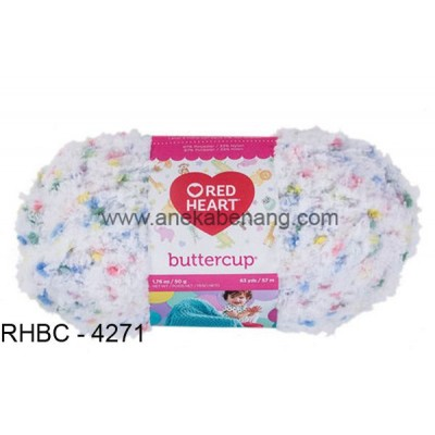 Red Heart Buttercup #4271 (White Multi)