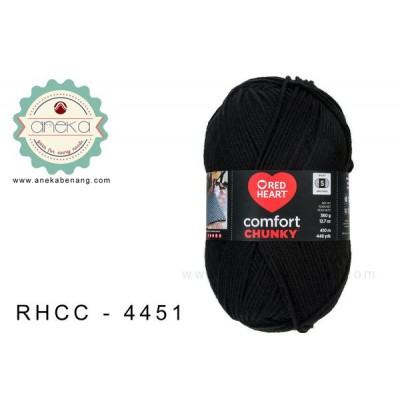Red Heart - Comfort Chunky #4451 (Black)