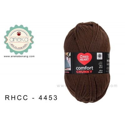 Red Heart - Comfort Chunky #4453 (Fudge)