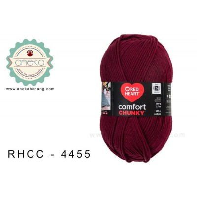 Red Heart - Comfort Chunky #4455 (Claret)