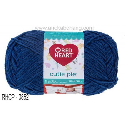 Red Heart Cutie Pie #0852 (Indigo)