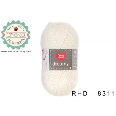 Red Heart Dreamy #8311 (Ivory)