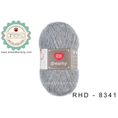 Red Heart Dreamy #8341 (Grey)
