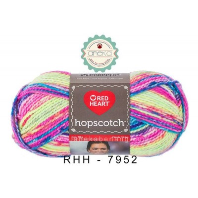 Red Heart Hopscotch #7952 (Jump Rope)