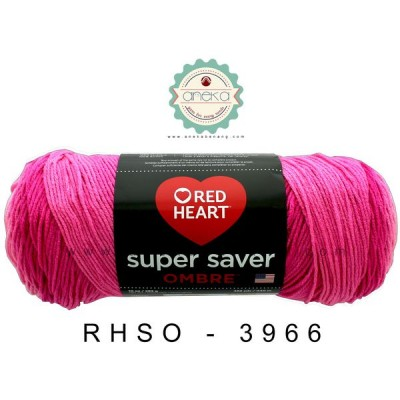 Red Heart Super Saver Ombre #3966 (Jazzy)