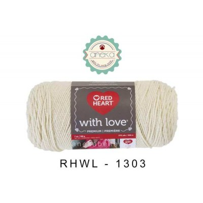 Red Heart With Love #1303 (Aran)