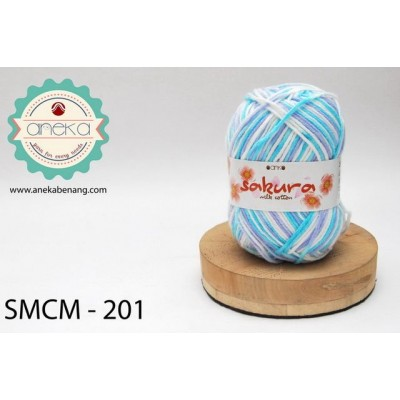 Benang Sakura Milk Cotton / Milk Cotton Yarn - 201