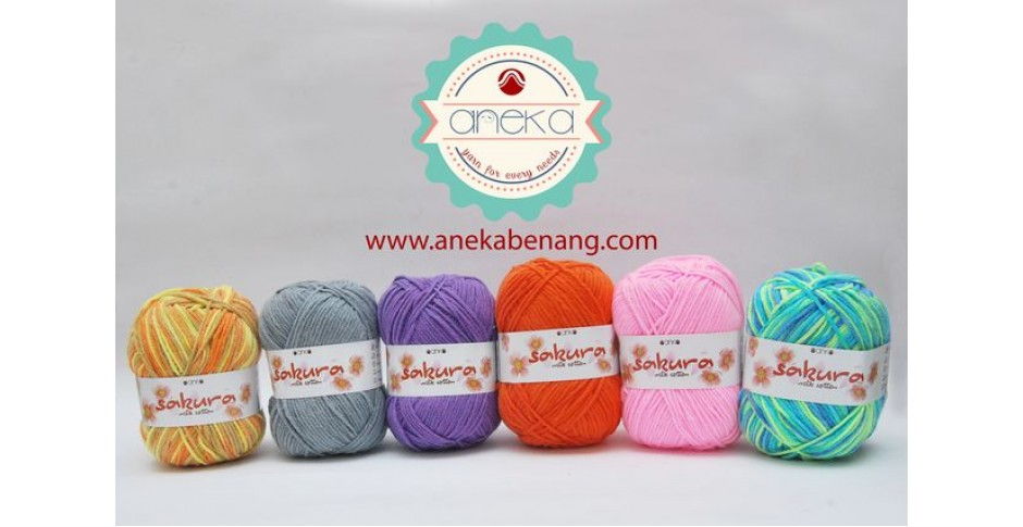 Benang Sakura Milk Cotton