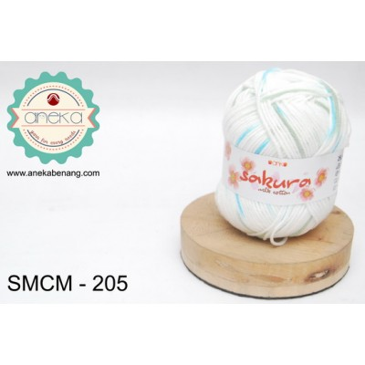 Benang Sakura Milk Cotton / Milk Cotton Yarn -205