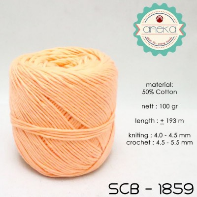 Benang Rajut Katun Bali / Soft Cotton Big Ply - 1859 (Salem)
