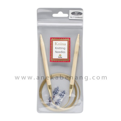 Breien (Alat Rajut) Tulip Knina Swivel / Knitting Needle - 100 Cm