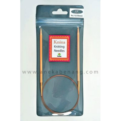 Breien (Alat Rajut) Tulip Knina Swivel / Knitting Needle - 60 Cm