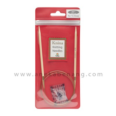 Breien (Alat Rajut) Tulip Knina Swivel / Knitting Needle - 80 Cm
