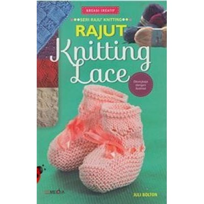 Buku Rajut Knitting Lace