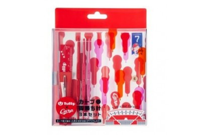 Hakpen (Alat Rajut) Tulip Carp Double Point Crochet Hook Set