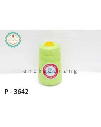 Benang Rajut Katun Panda / Cotton Yarn - 3642 (Hijau Lemon)