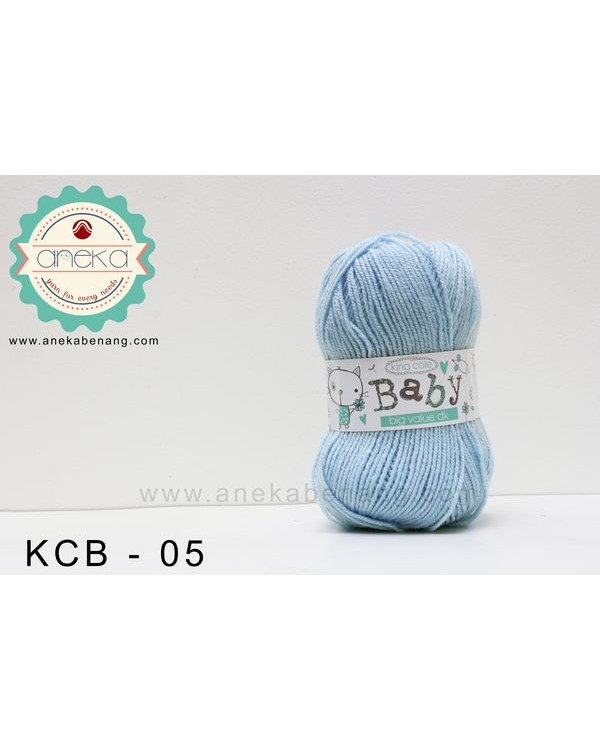 Benang Rajut King Cole - Baby Big Value DK #05 (Sky)
