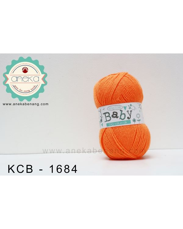 Benang Rajut King Cole - Baby Big Value DK #1684 (Mandarin)